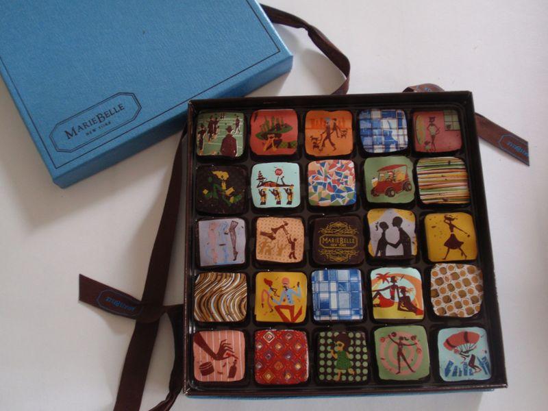 A box of art, sweet