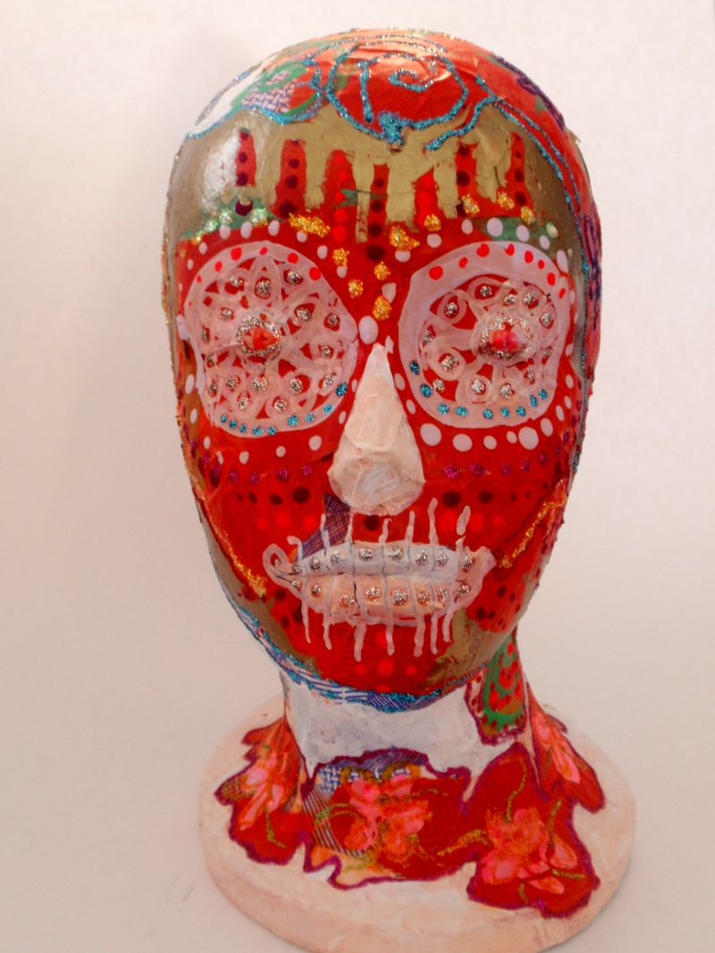 Day of the Dead Head, front