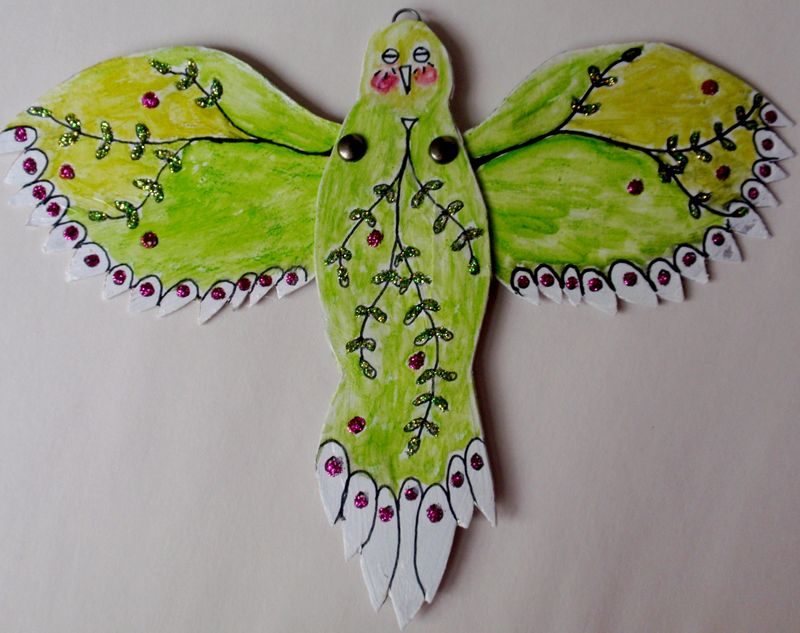 Bird, green