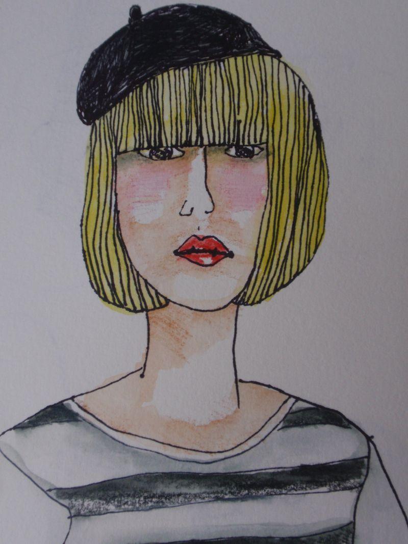 Beret blonde