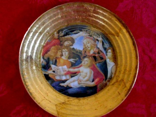 Madonna plate