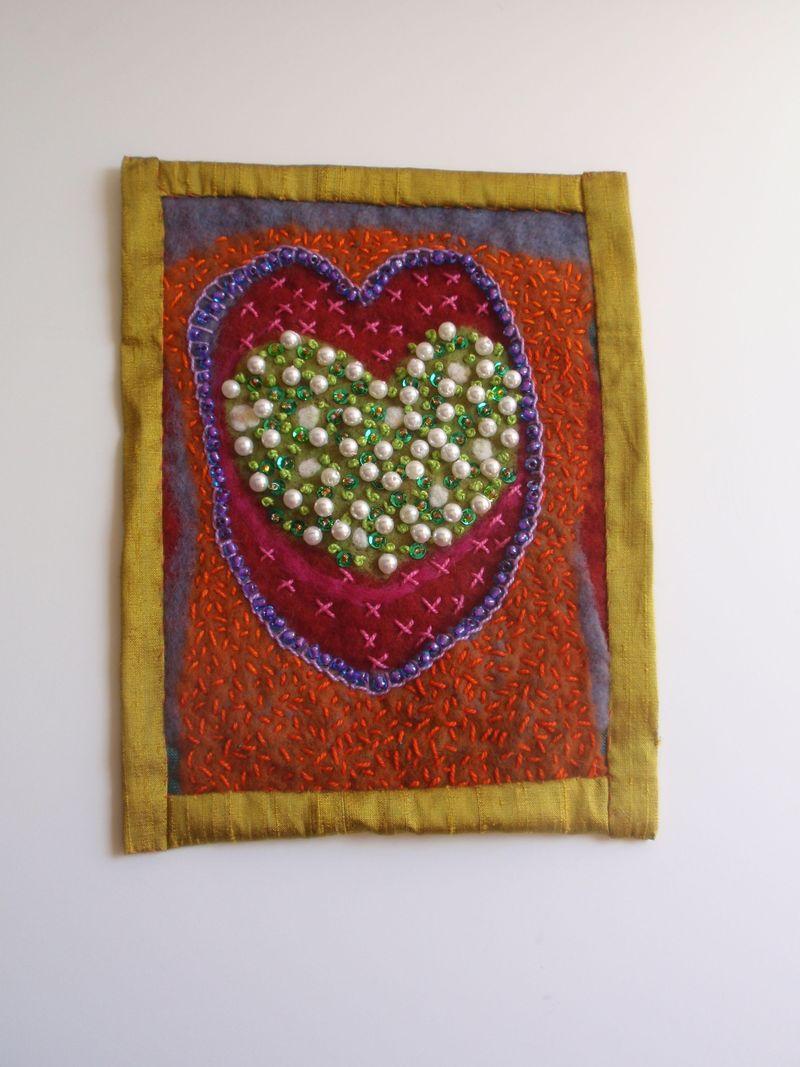 Beaded heart 1