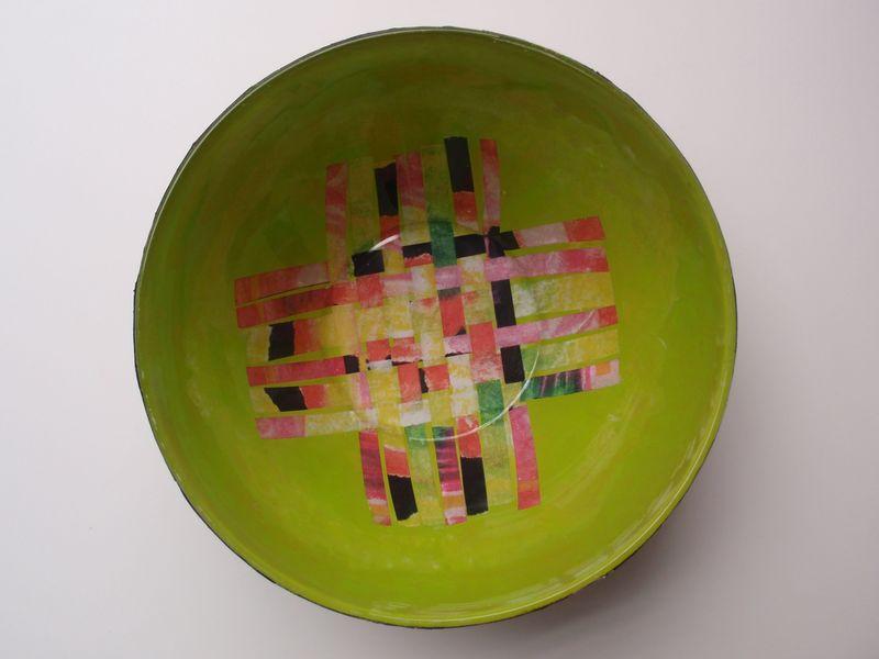 Inside bowl, really