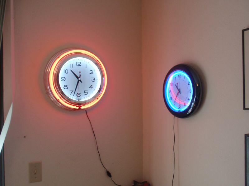 Dueling clocks