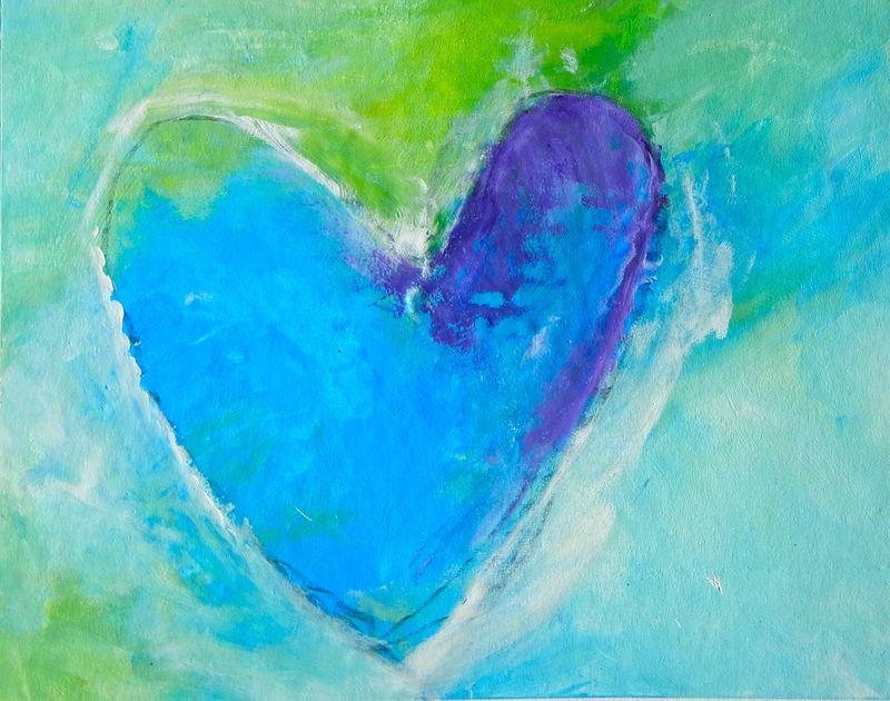 Her Blue, blue Heart