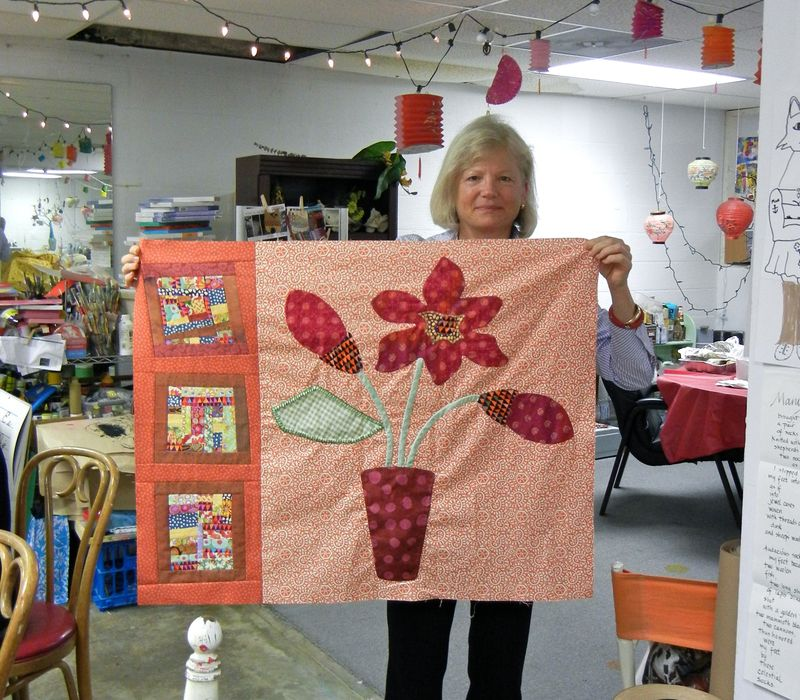 Maren shares latest quilt top