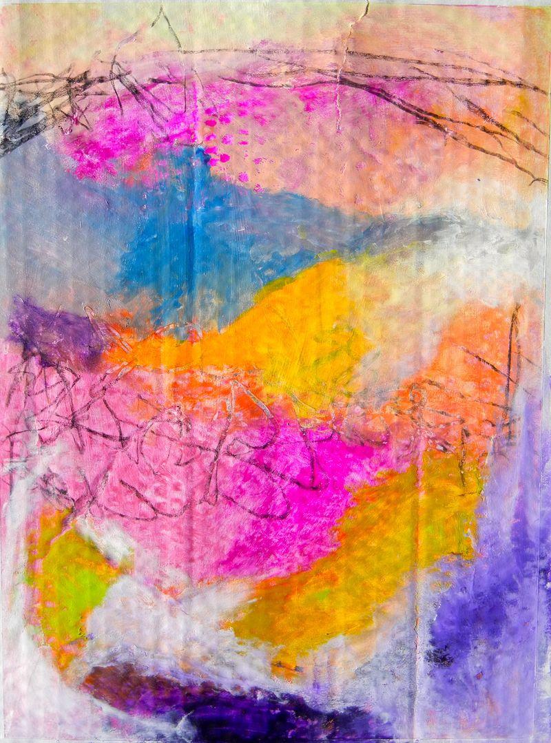 Cardboard abstract