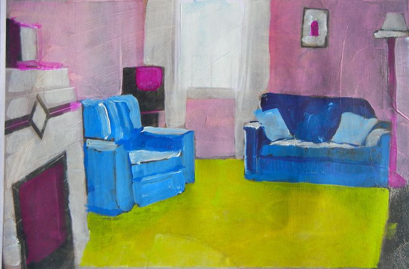 The Blue Sofa Room