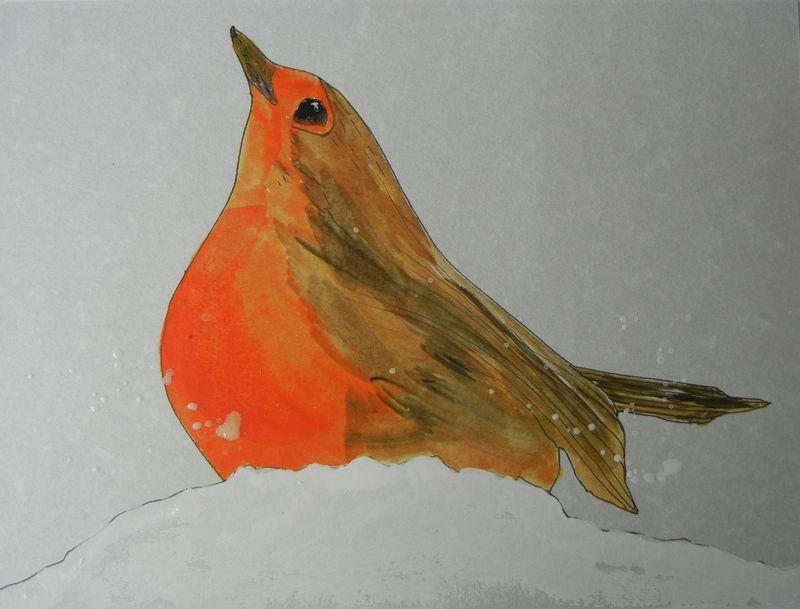 Avian snow play