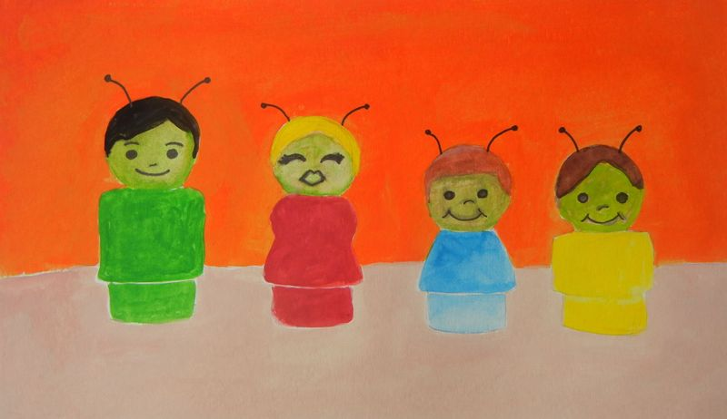 Little People from Mars