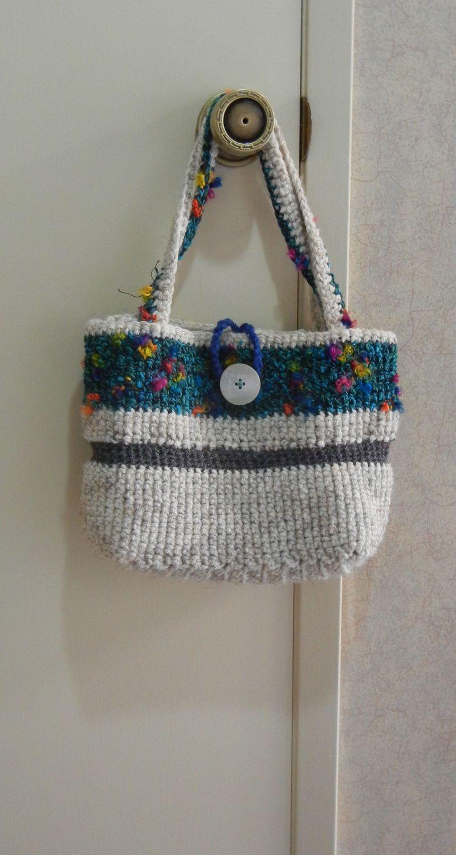 Crochet bag on door 2011