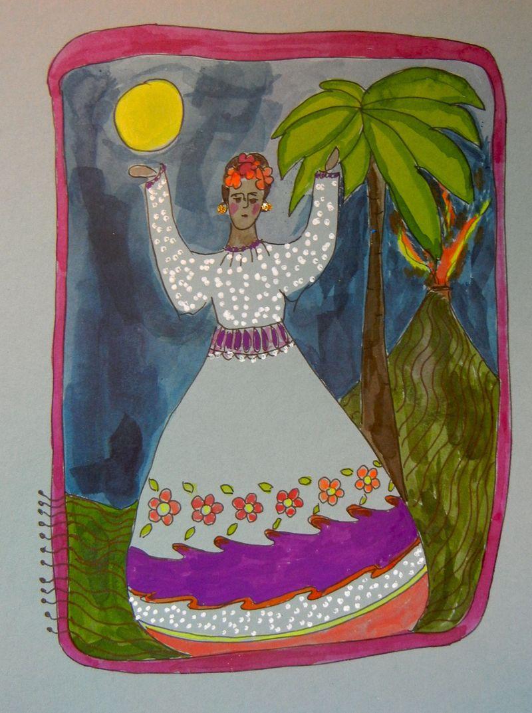 Frieda in the Moonlight