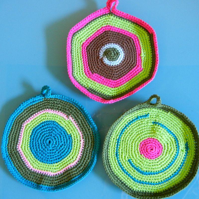Round potholders