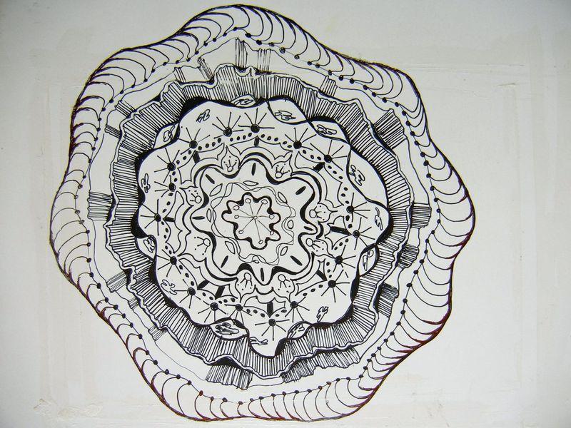 Art hus doodle