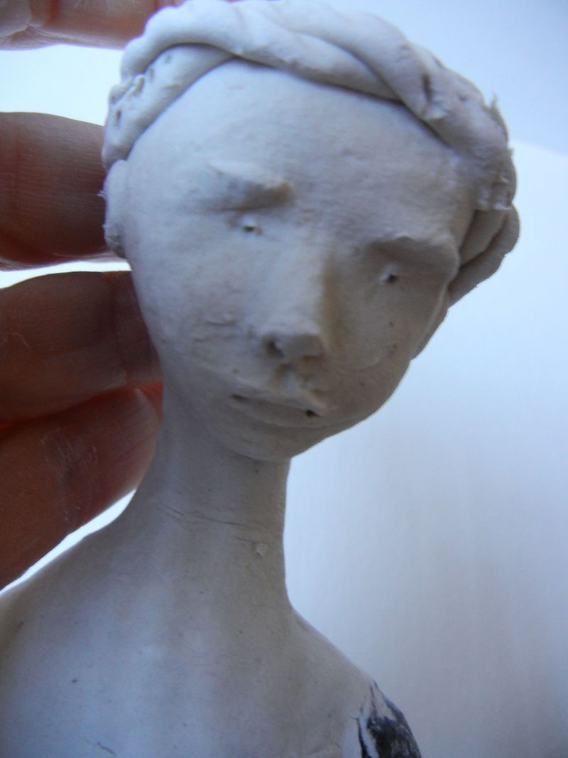 Head of doll