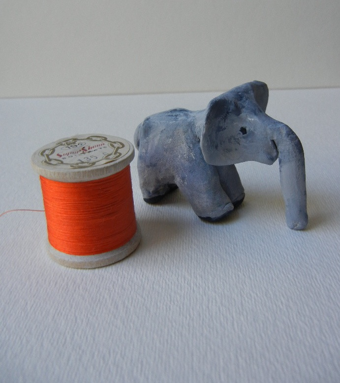 Elephant with spool