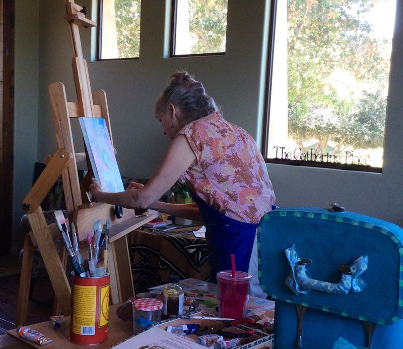 Sukey painting