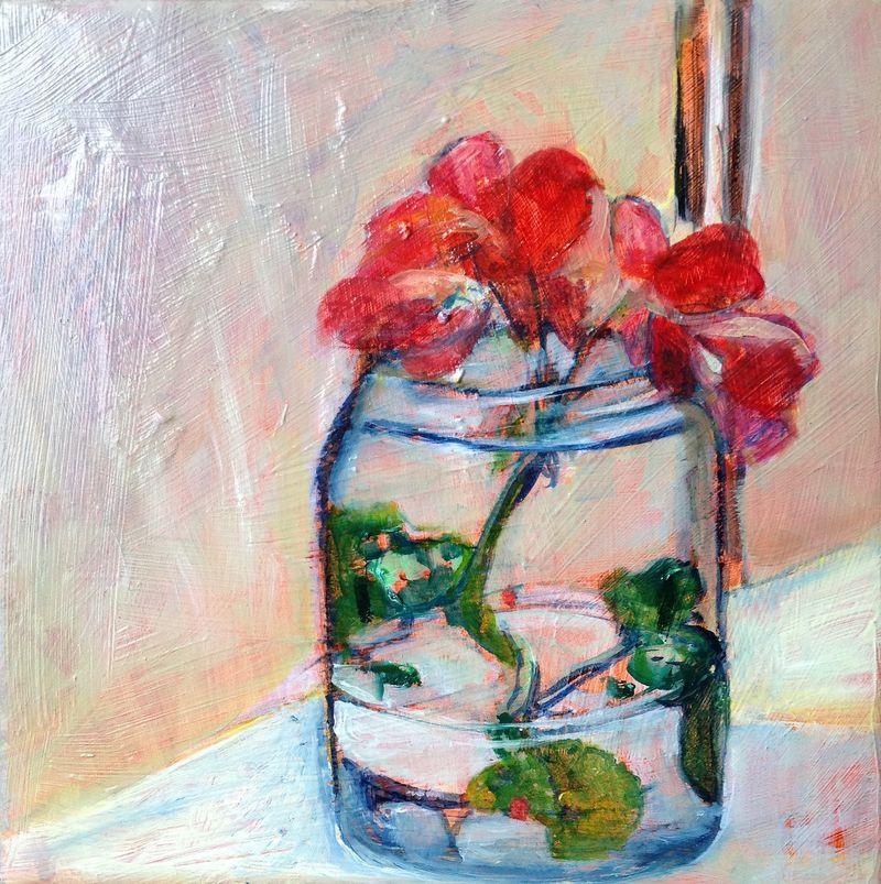 Jar on the sill